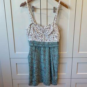 Aritzia Wilfred Bustier Paisley Dress